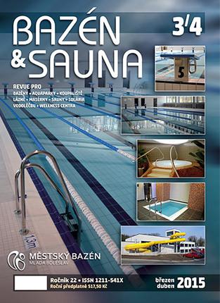 Bazén & Sauna 3/4 2015