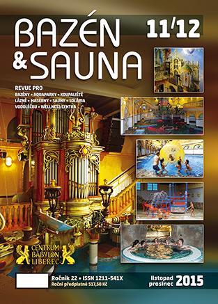Bazén & Sauna 11-12-2015 titulka