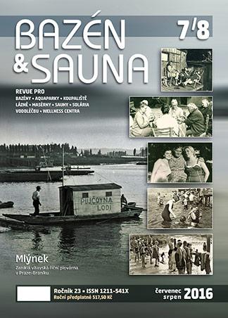 časopis Bazén & Sauna 7-8 2016