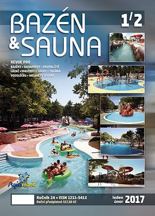 Časopis Bazén & Sauna - číslo 1/2 2017