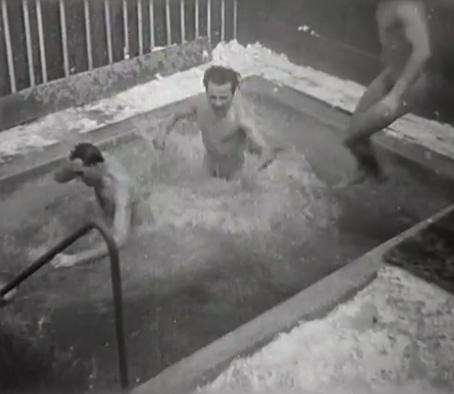 Finská sauna v Pisárkách (1946)