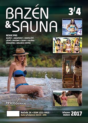 Časopis Bazén & Sauna - číslo 3/4 2017