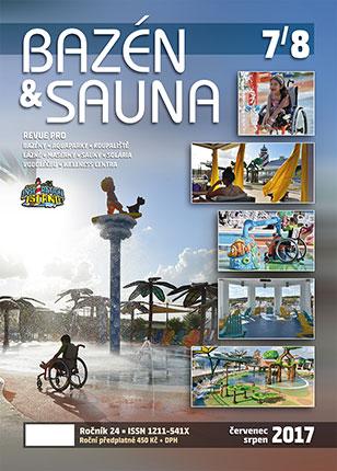 časopis Bazén & Sauna 7/8 2017